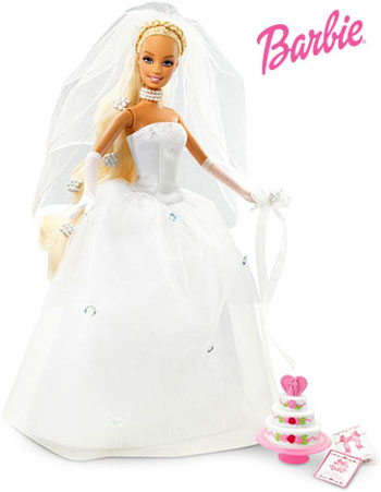 Every brides dream is to look like Barbie!